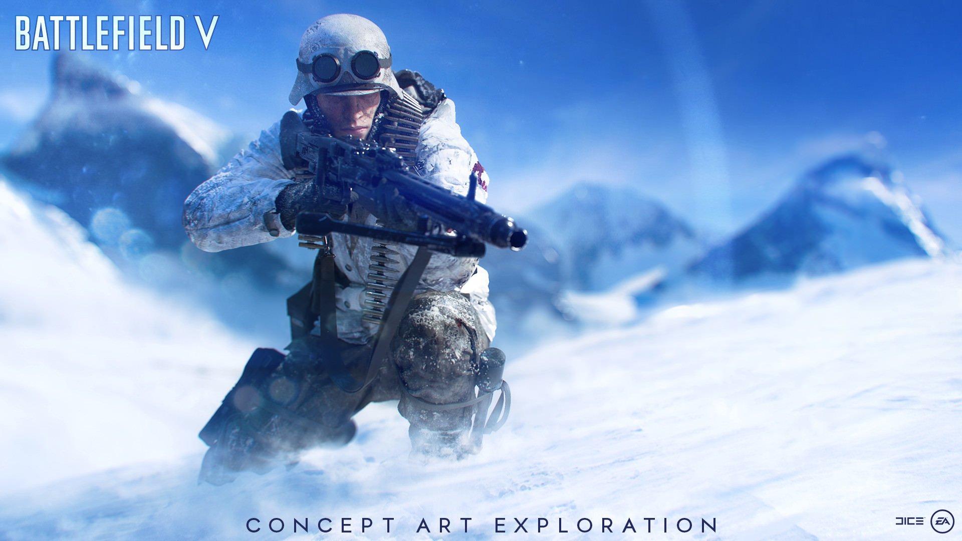 Battlefield v hd wallpapers backgrounds read games - Battlefield v concept art wallpaper ...