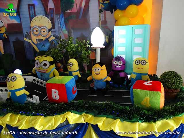 decoração tema de aniversário Minions
