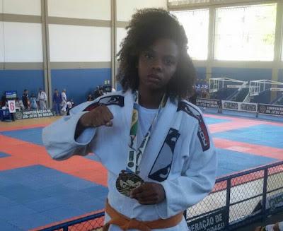 Railes Silva é medalha de ouro no campeonato brasileiro de Jiu Jitsu