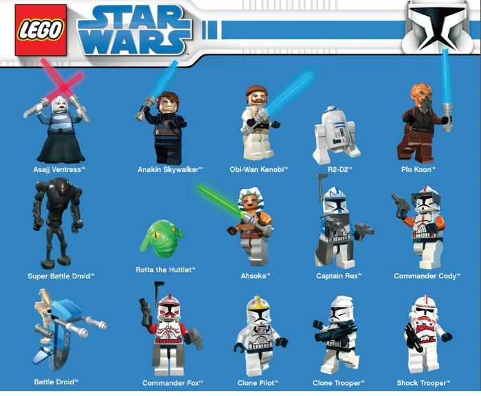 Dibujos Star Wars Lego Para Colorear: Recursos Fiesta Star Wars