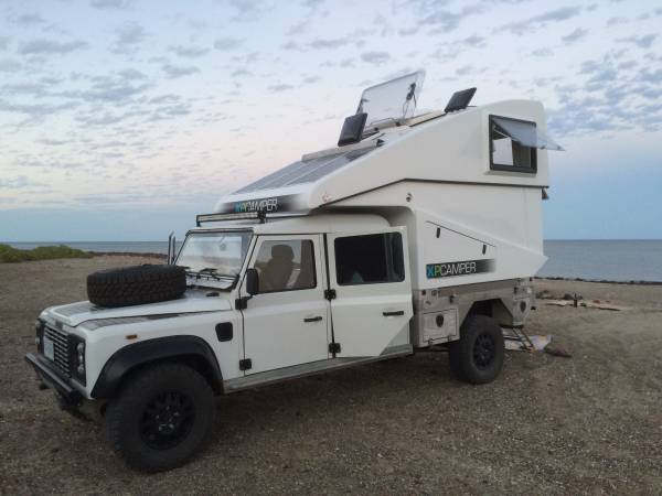 Land Rover Defender Expedition Xp Camper Rv Amp Camper