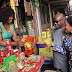 See Photos Of Wike & His Wife Buying Things At A Local Market In Port Harcourt