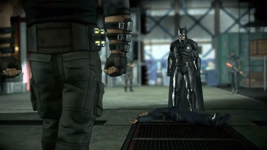 batman telltale bane