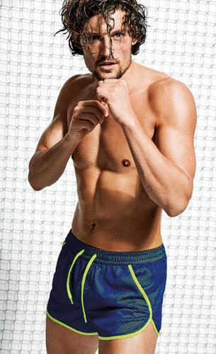 bañador boxer deportivo Calzedonia hombre
