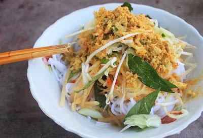 Thưởng thức món bún kèn và xôi xiêm lạ miệng ở Kiên Giang