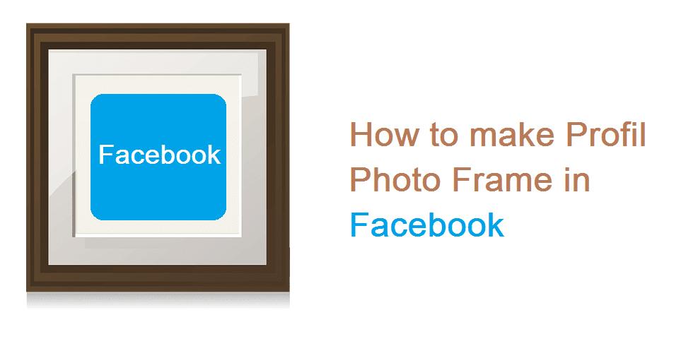 Cara memasang bingkai foto profil di facebook