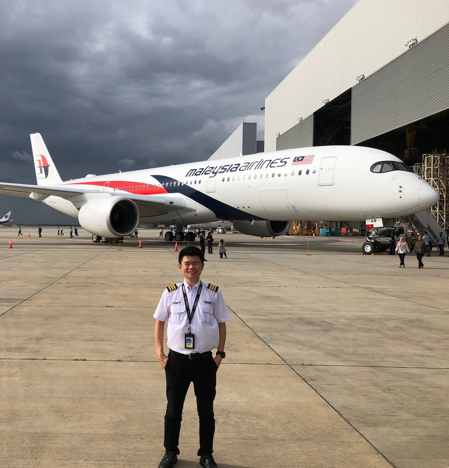 FIRST A350 MALAYSIA AIRLINES LAUNCH