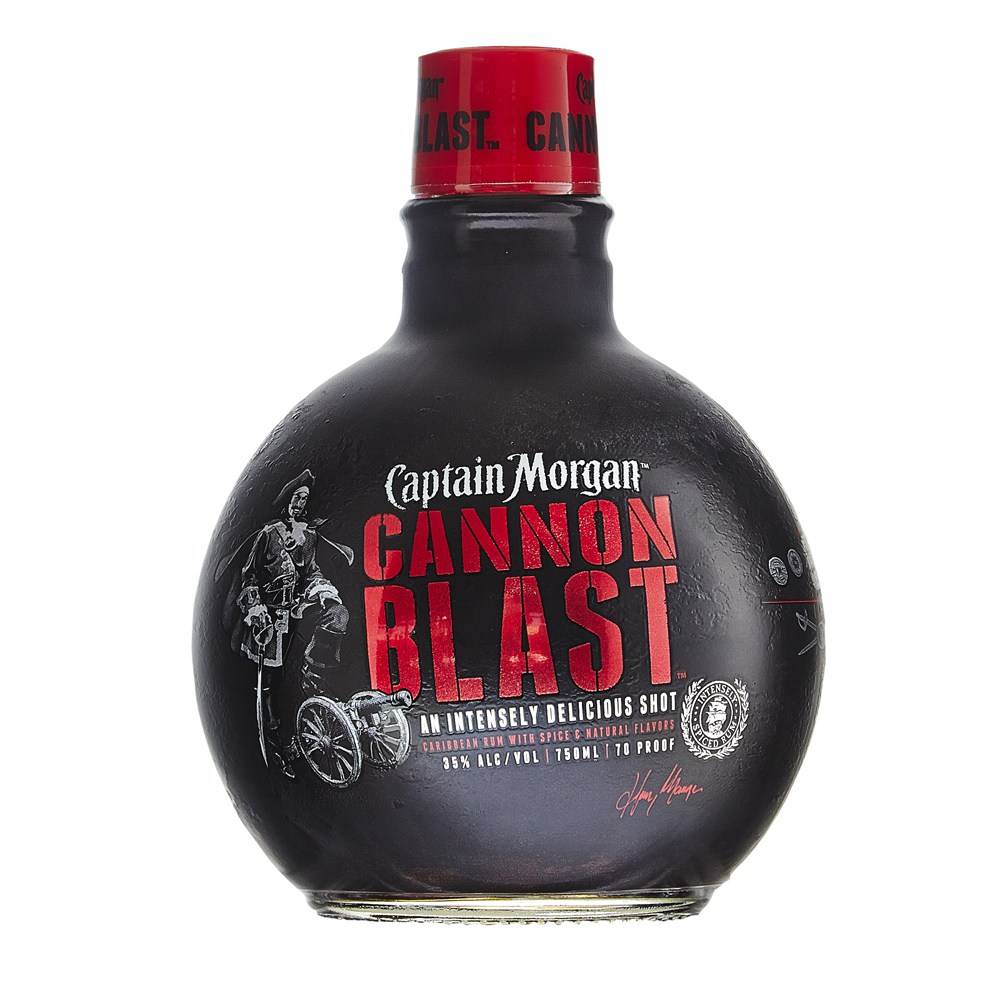 captain morgan cannonball - Captain Morgan Canon Blast « The Rum Howler Blog