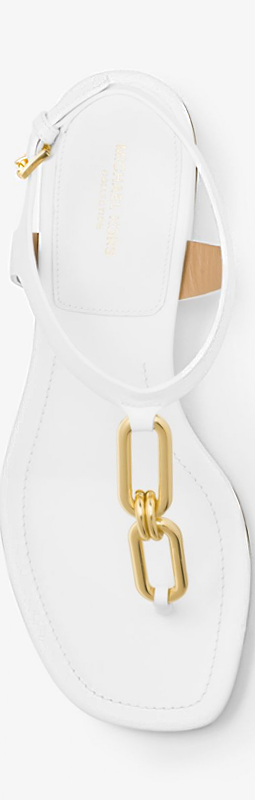 MICHAEL KORS COLLECTION Bay Leather Sandal