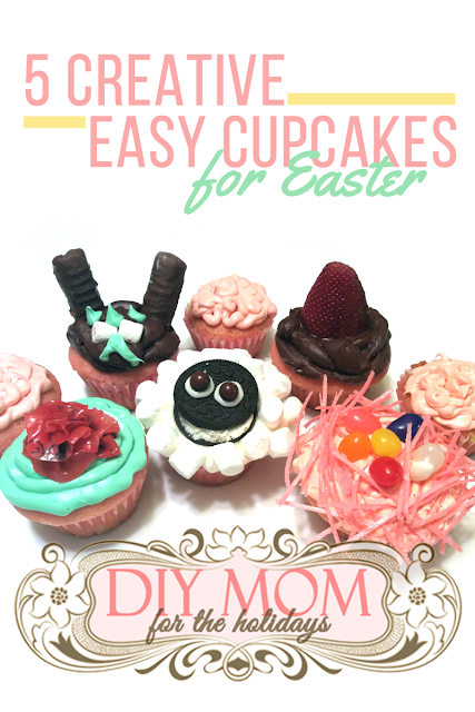 5 Creative Easy Cupcakes for Easter | Dessert Recipes | Cupcake Decorating Ideas | Decorating Cupcakes with Kids | Decoration Ideas