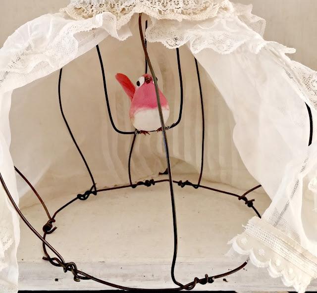 Birdcage doll