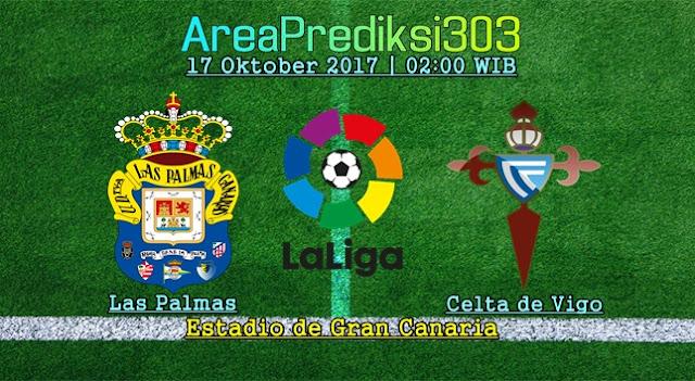 Prediksi Skor Las Palmas vs Celta Vigo 17 Oktober 2017