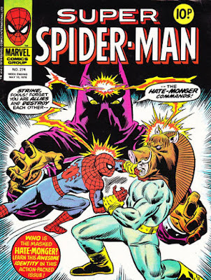 Super Spider-Man #274, the Razorback and the Hatemonger