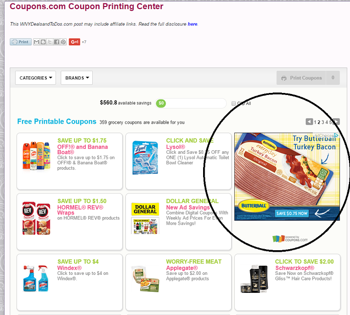 photograph relating to Butterball Coupons Turkey Printable called  Butterball Turkey Bacon  : *Very hot* $0.75/1 printable