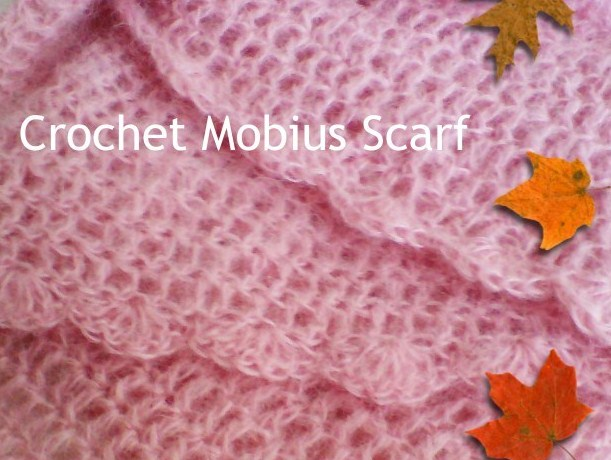 how to crochet, free crochet patterns, mobius, moebius, infinity scarf, twisted cowl,