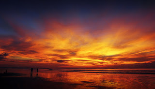 All About Bali Kuta Beach Bali the dazzling sunsets,