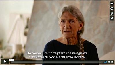 RICCARDA DE ECCHER PITTRICE ALPINISTA