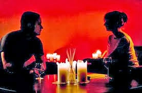 Candle Lighting on Valentine's Date