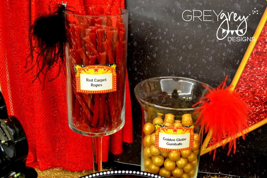 Greygrey Designs My Parties Jenna S Red Carpet