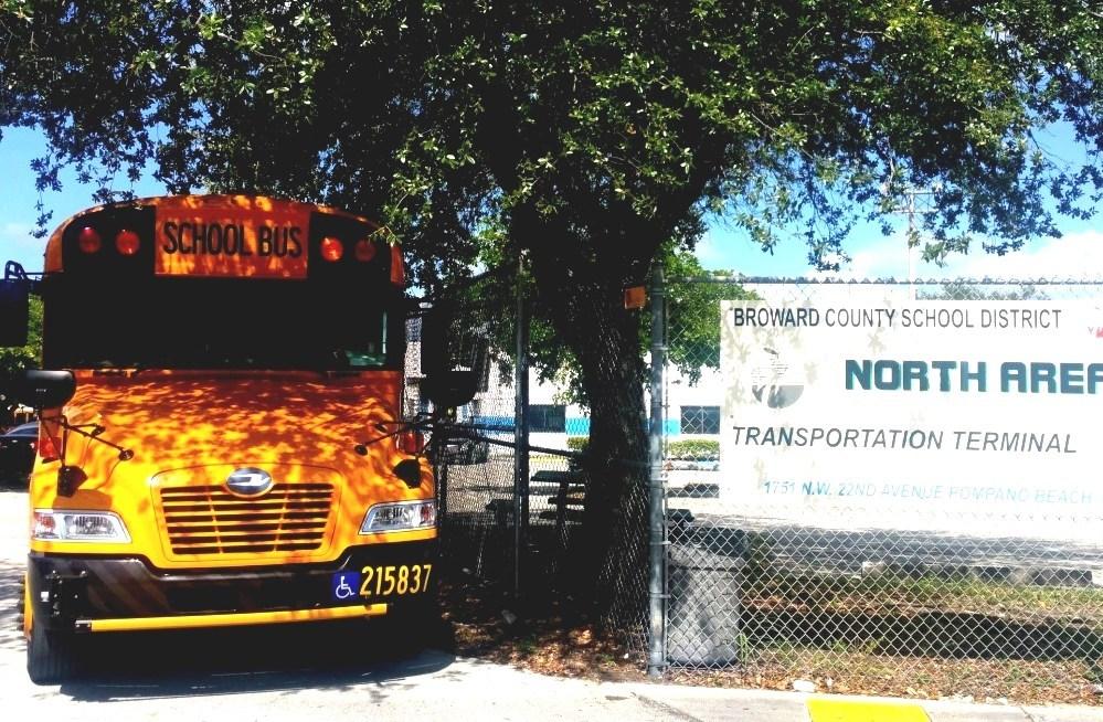 Broward County Transit - Broward County School Bus