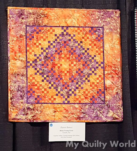 My Quilty World Houston Quilt Festival Day Two