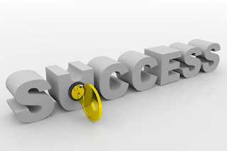 "the word success in block lettering with a golden key in the lock of the ""u"", the key to success - technitrader"