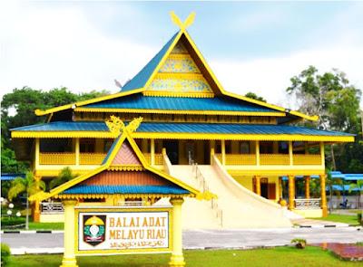 Gambar Rumah Adat Riau