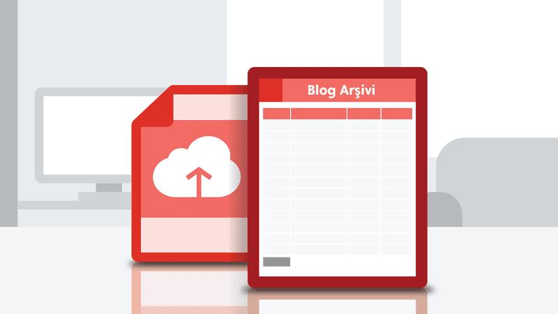 Blogger'da Site Haritası Sayfası Oluşturma