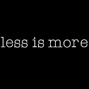 Less is more : Consommer responsable