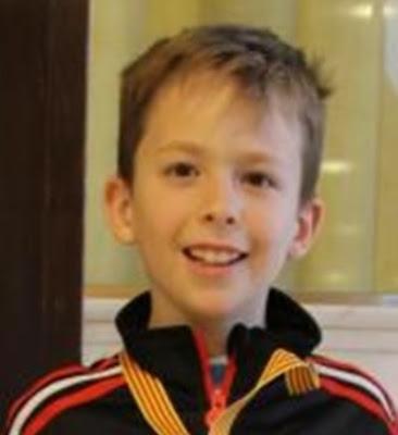 El joven ajedrecista Leo Gardner