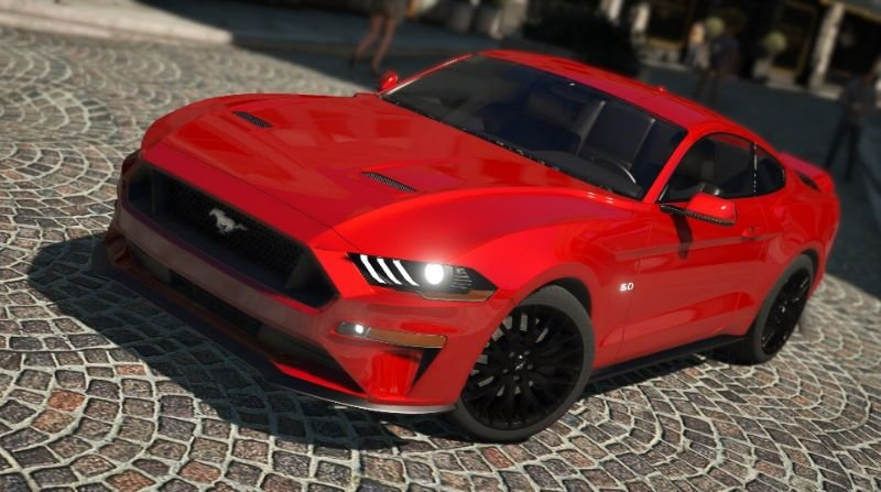 Ford Mustang Gt 2018 Addon Replace Gta5 Gamesmods17rhgamesmods17: Ford Mustang Gta 5 Location At Gmaili.net
