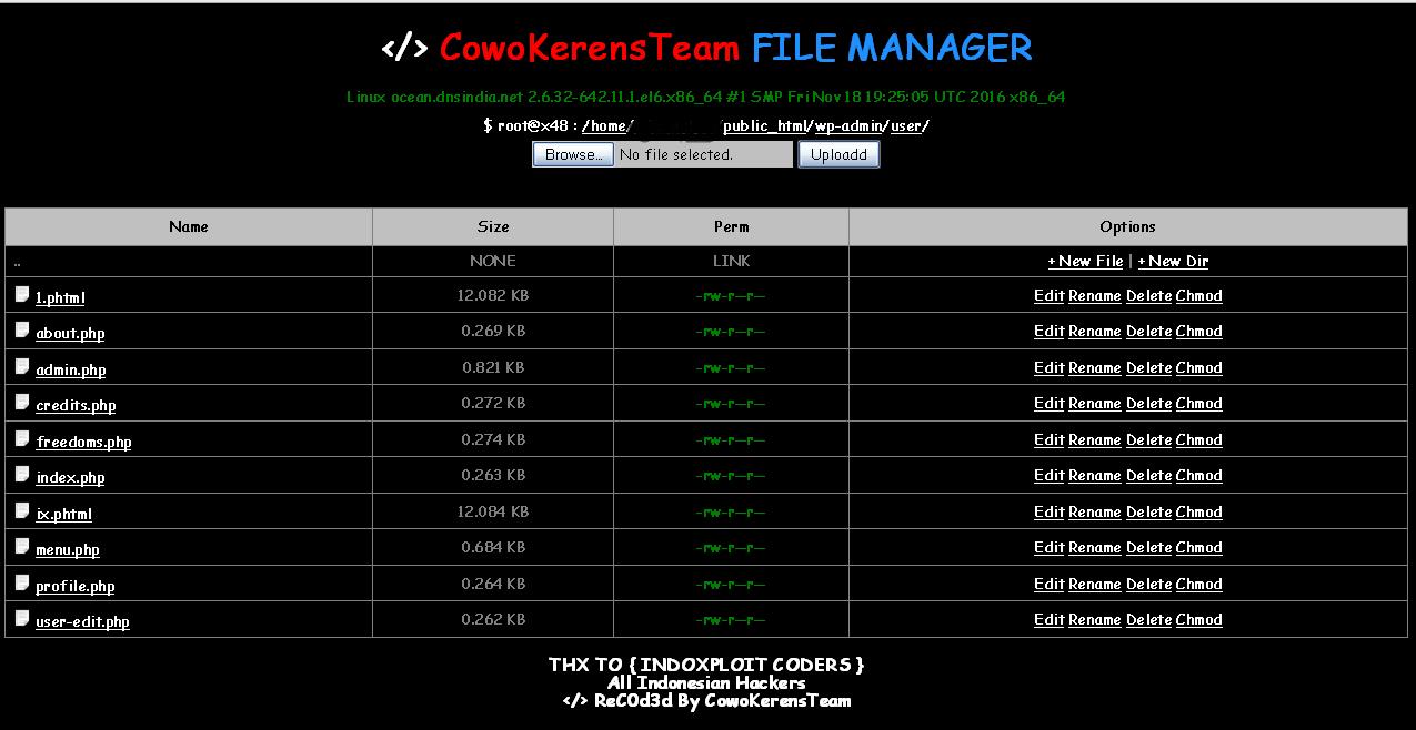 Shell Backdoor Cowo Kerens Team - Jendela Defacer
