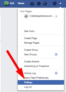 How to change name on facebook profile link