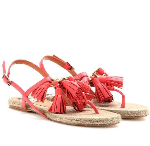 Thời trang hơn cùng giày đế cói