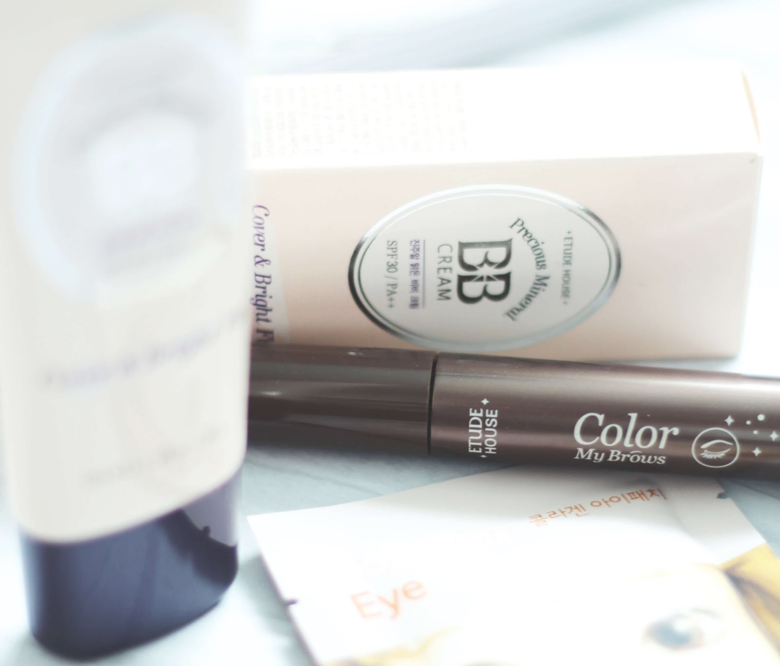 YesStyle top 10 etude house color my brow and collagen eye patch review