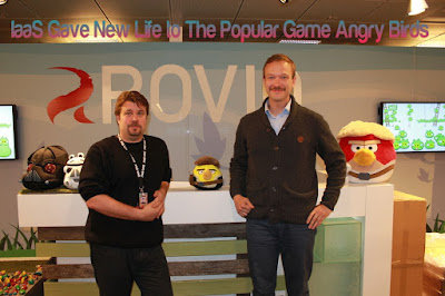 IaaS Gave New Life to The Popular Game Angry Birds