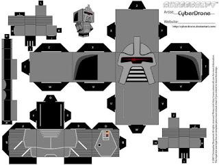 Descargar el cubeecraft del Cylon Centurión de la serie Battlestar Galactica