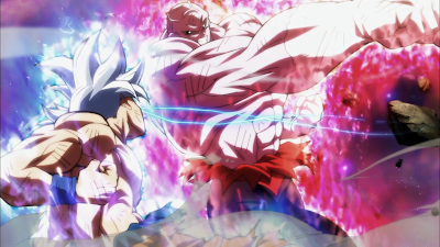 Pertarungan Goku vs Jiren di Dragon Ball Super