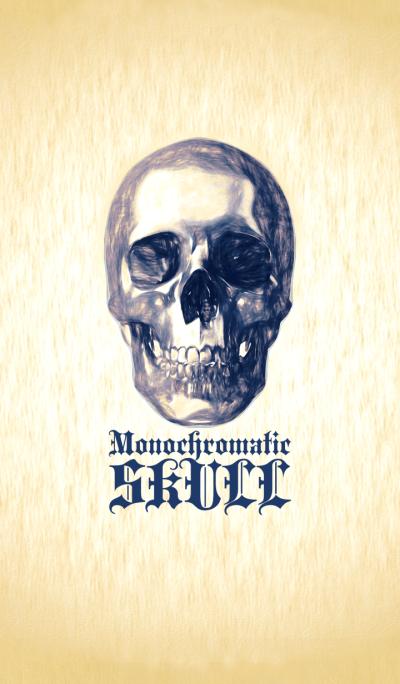 Monochromatic skull <beige>