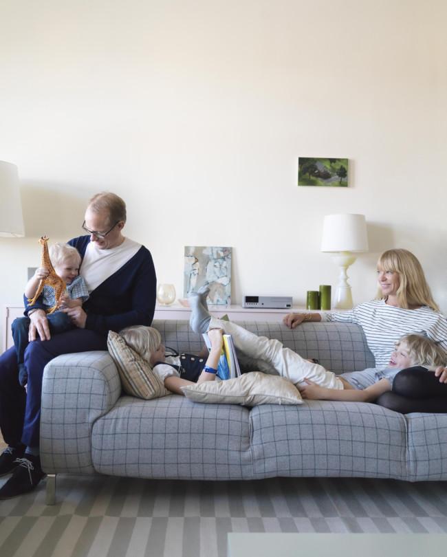 Interiores en familia