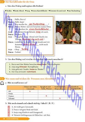 9. Sınıf Almanca A1.1 Ders Kitabı Cevapları Sayfa 56