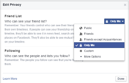 How To Hide One Friend On Facebook