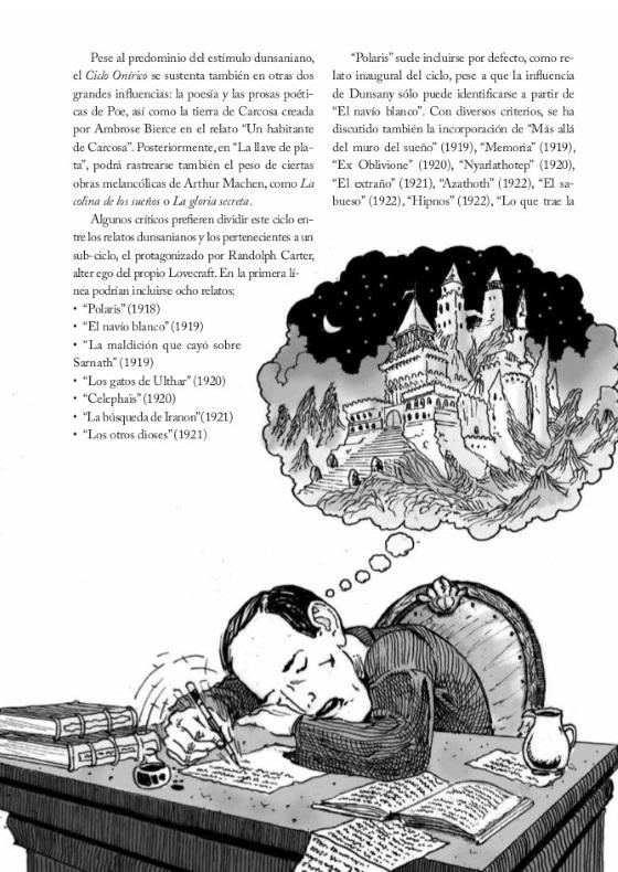 H.P. Lovecraft: Vida y Obra Ilustradas