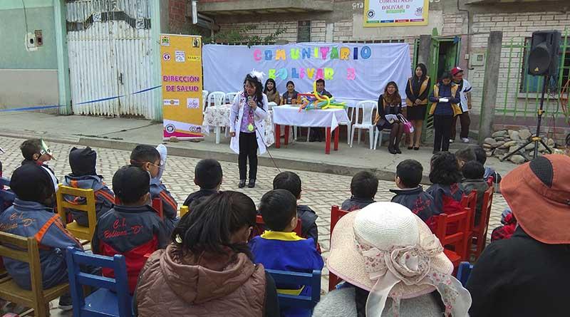 Programa arrancó en centro infantil del distrito 2