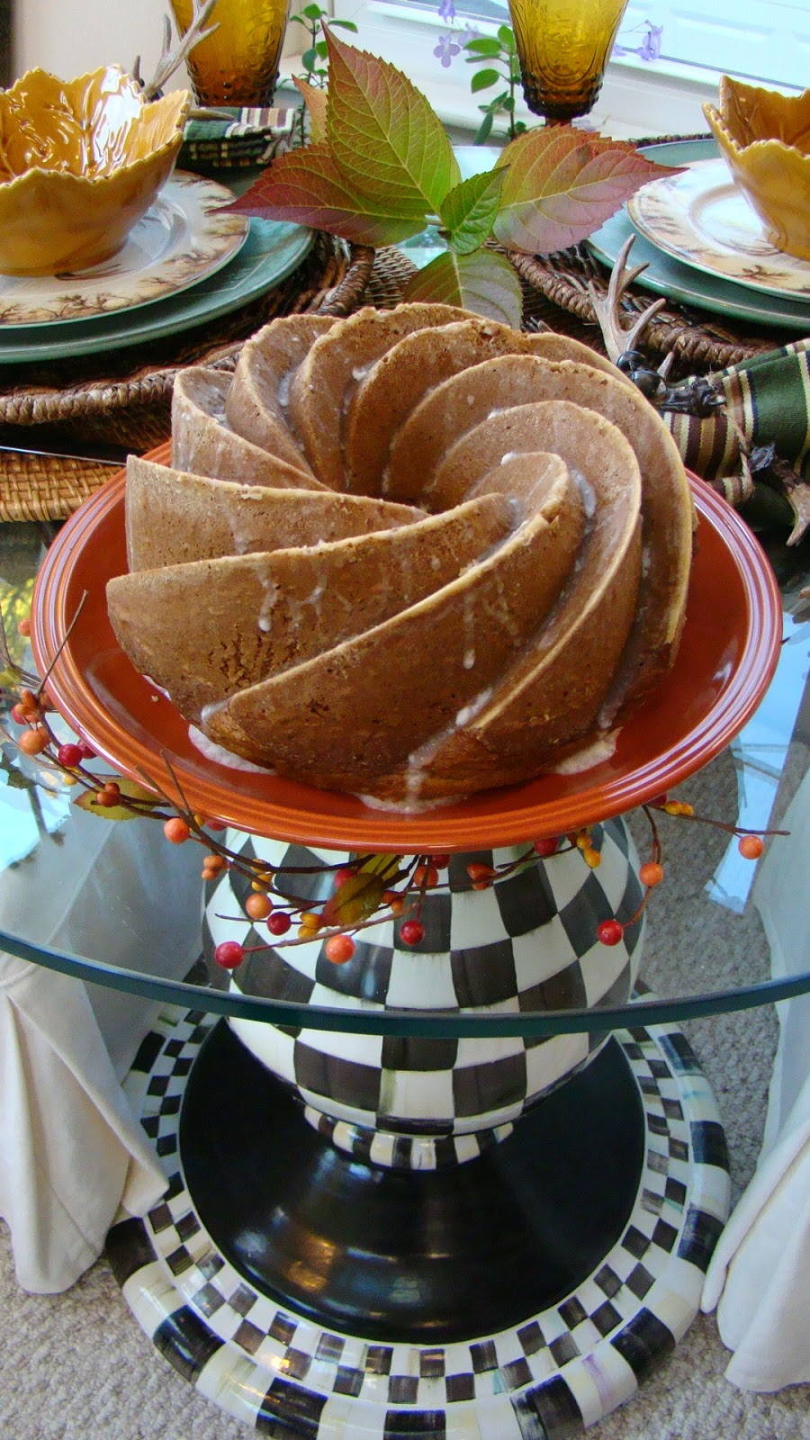 Pistachio Bundt Cake National Bundt Day Mountain Breaths