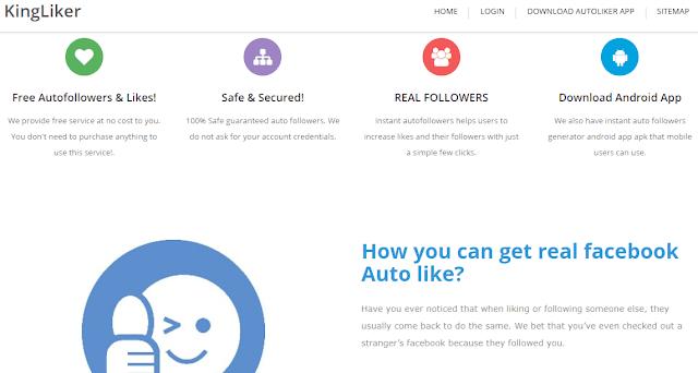 King liker auto like fb tool