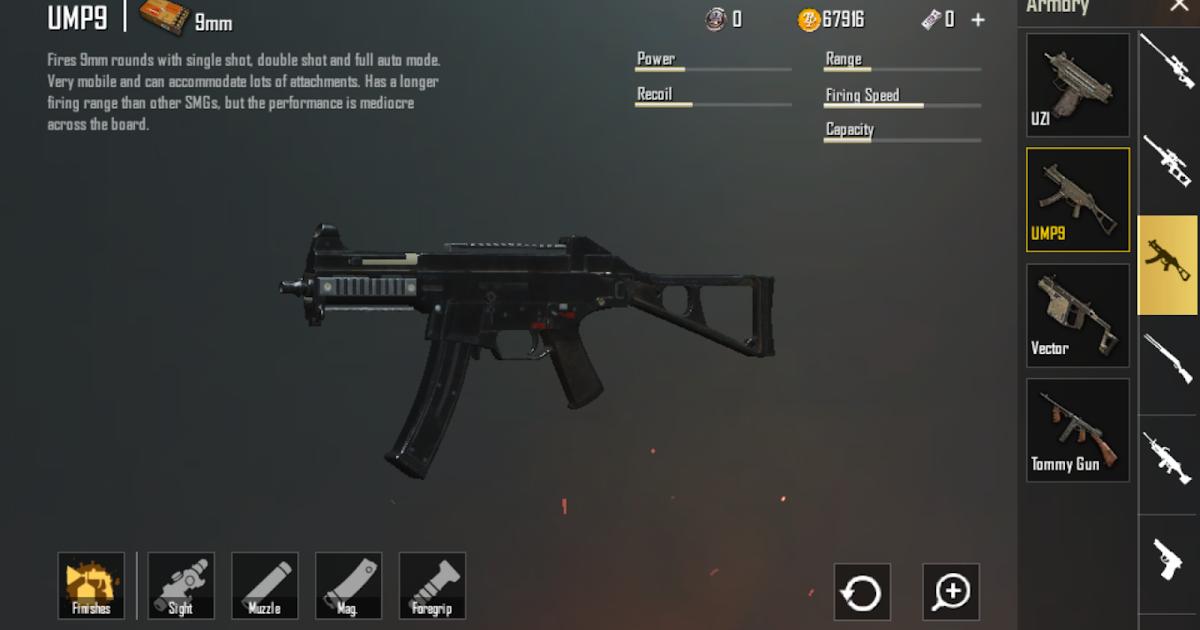 726701b63 سلاح UMP9 في لعبة ببجي – UMP9 PUBG Gun