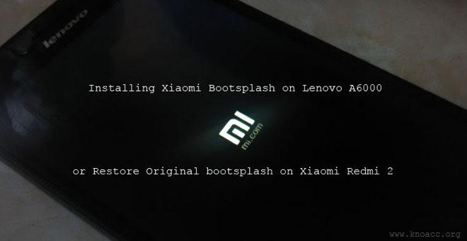 MIUI 6 Bootsplash