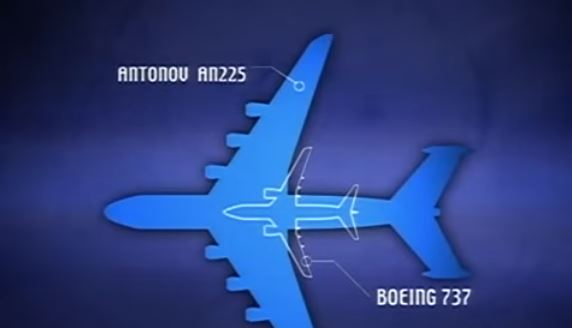 world largest aircraft Vs boeing 747