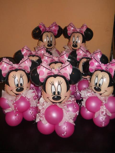 Minnie Rosa Decoração